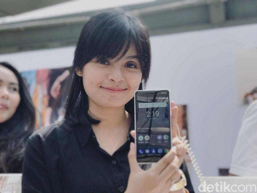 Adalah HMD Global yang membawa Nokia kembali ke Indonesia. Mereka adalah pemegang lisensi merek Nokia.(Foto: detikINET/Adi Fida Rahman)