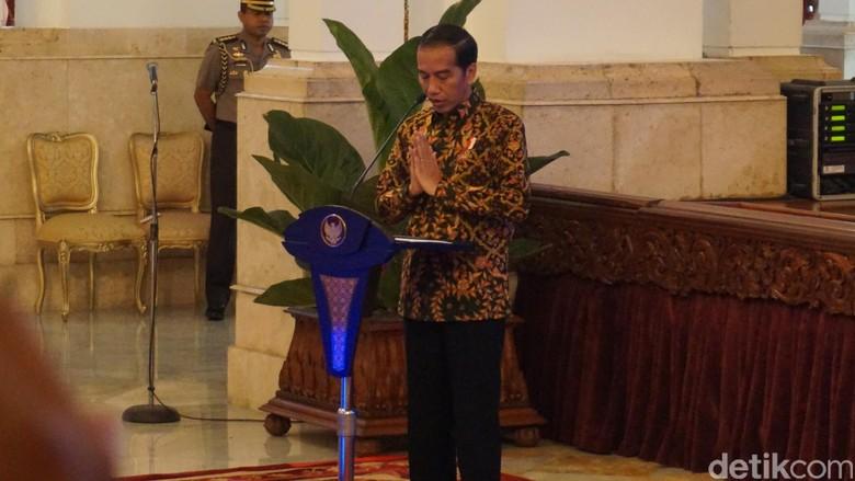 Jokowi Minta Warga di Sekitar Gunung Agung Patuhi Instruksi Petugas