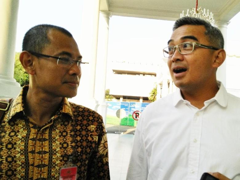 Konsultasi Pilkada Bandung, Farhan dan Arfi Rafnialdi Temui Jokowi