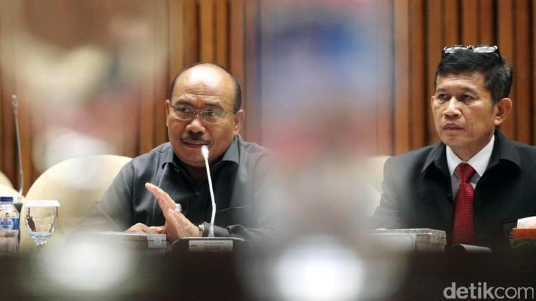 Pansus Angket KPK-Puslabfor Polri Rapat Bahas CCTV OTT BPK