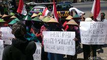 Demo Tolak Pabrik Semen Kembali Digelar di Rembang