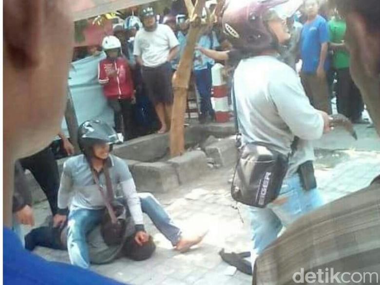 Polisi Nganjuk Bantah Video Anggotanya Dianiaya Begal