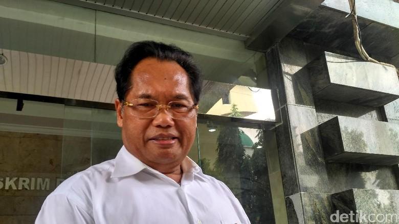 Dilaporkan Akom, Ketum SOKSI Ali Wongso Diperiksa Bareskrim
