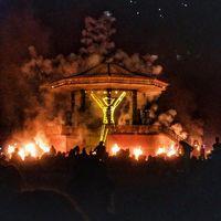 Burning Man Festival di Black Rock City (Instagram/gregseguin)
