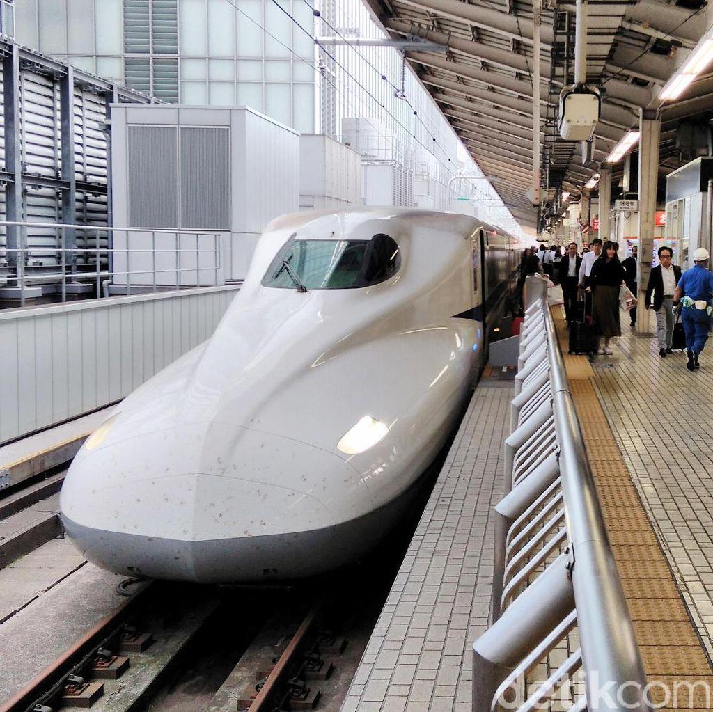 Retakan Ditemukan pada Kereta Peluru Jepang, Bisa Tergelincir