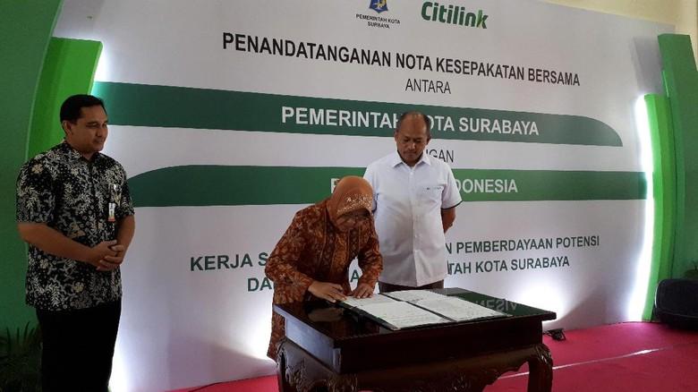 Produk UMKM Surabaya Bakal Dijumpai di Dalam Pesawat Citilink