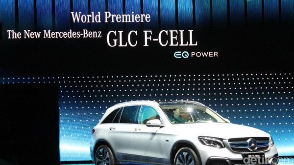 Mercedes GLC F-Cell, Mobil Berbahan Bakar Hidrogen