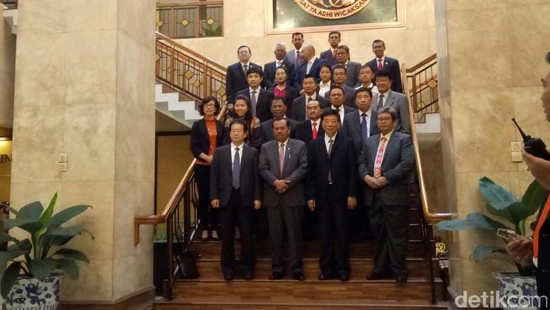Jaksa Agung Terima Kunjungan Delegasi China