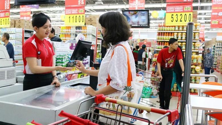 Jurus Transmart Carrefour Amankan Konsumen dari Gesek Ganda