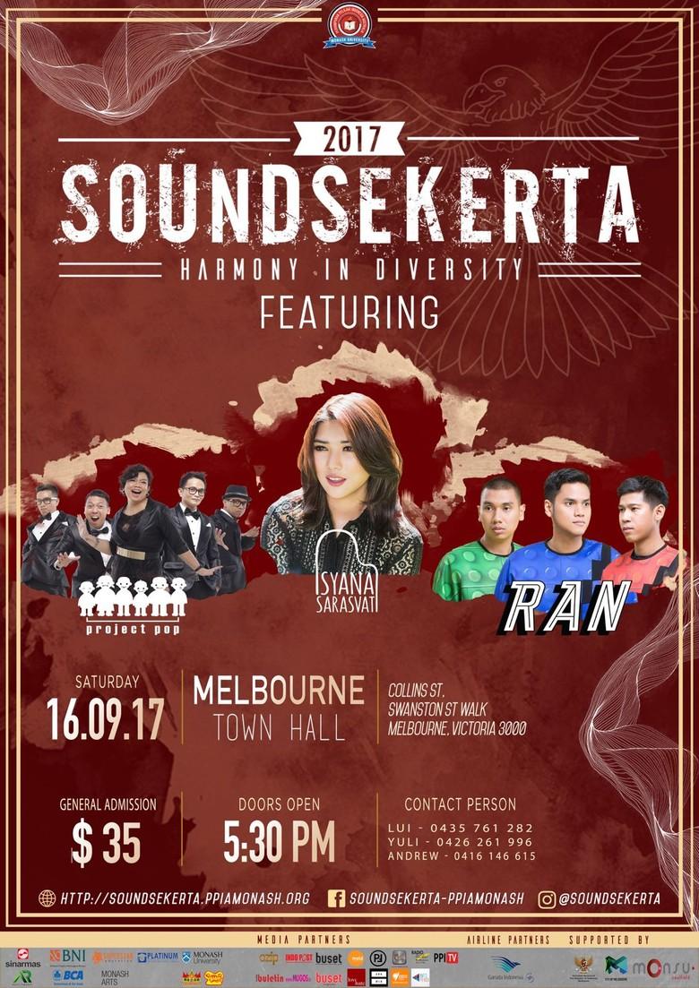 Soundsekerta 2017 Coba Obati Kerinduan WNI di Australia