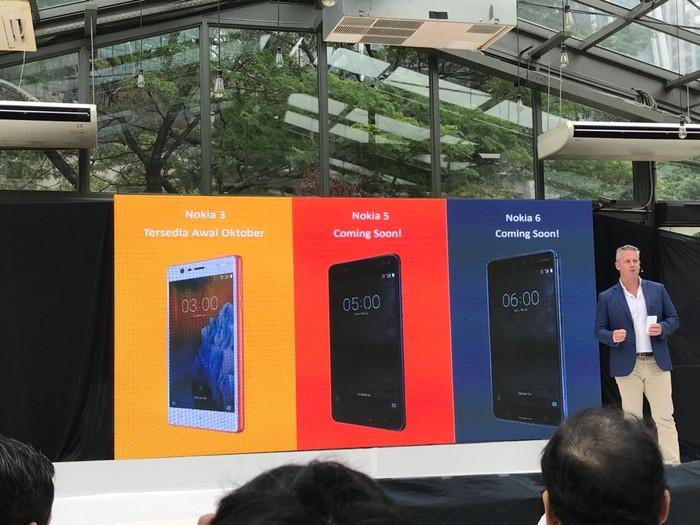 Ponsel Nokia yang masuk Indonesia. Foto: Adi Fida Rahman/detikinet