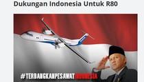 Netizen Antusias Patungan Pesawat untuk Indonesia