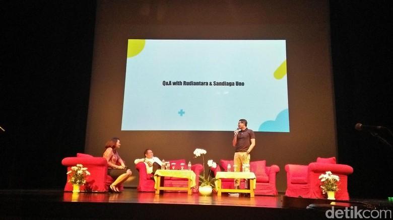 Hadiri IME Conference, Sandi Bicara Persaingan Usaha Kaum Milenial