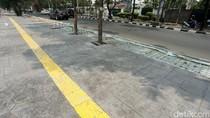 Pedestrian di Kawasan Danau Sunter Dipercantik