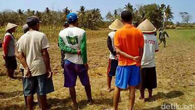 Mortir Milik TNI Nyasar di Ladang Warga di Kebumen