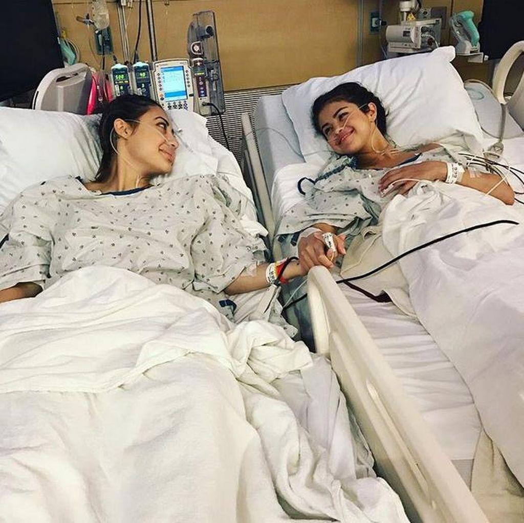 Usai Donor Ginjal untuk Selena Gomez, Francia Raisa Kesulitan Berjalan