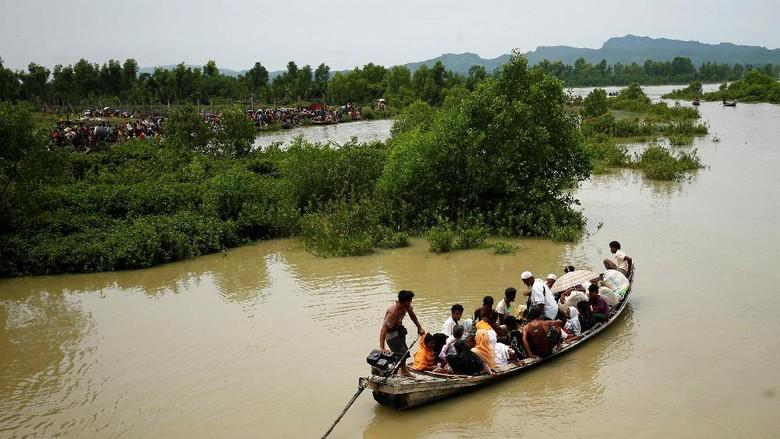 Kapal Pengungsi Rohingya Tenggelam, 19 Orang Tewas dan 50 Hilang