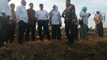 Anggota DPR RI Tinjau Lokasi Pembangunan Bendungan di Bojonegoro
