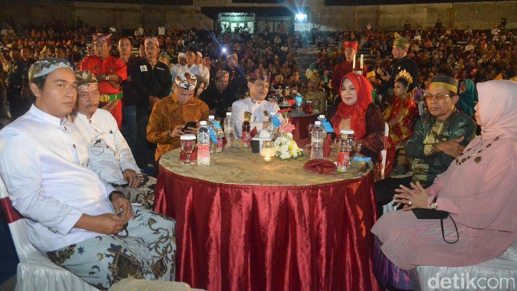 Makan Malam Para Raja dan Sultan se-Nusantara di Cirebon