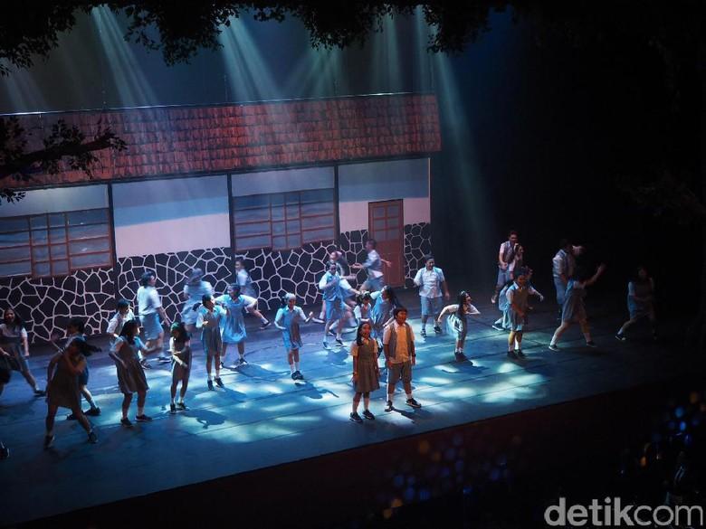 Musikal Petualangan Sherina Pukau Ribuan Penonton