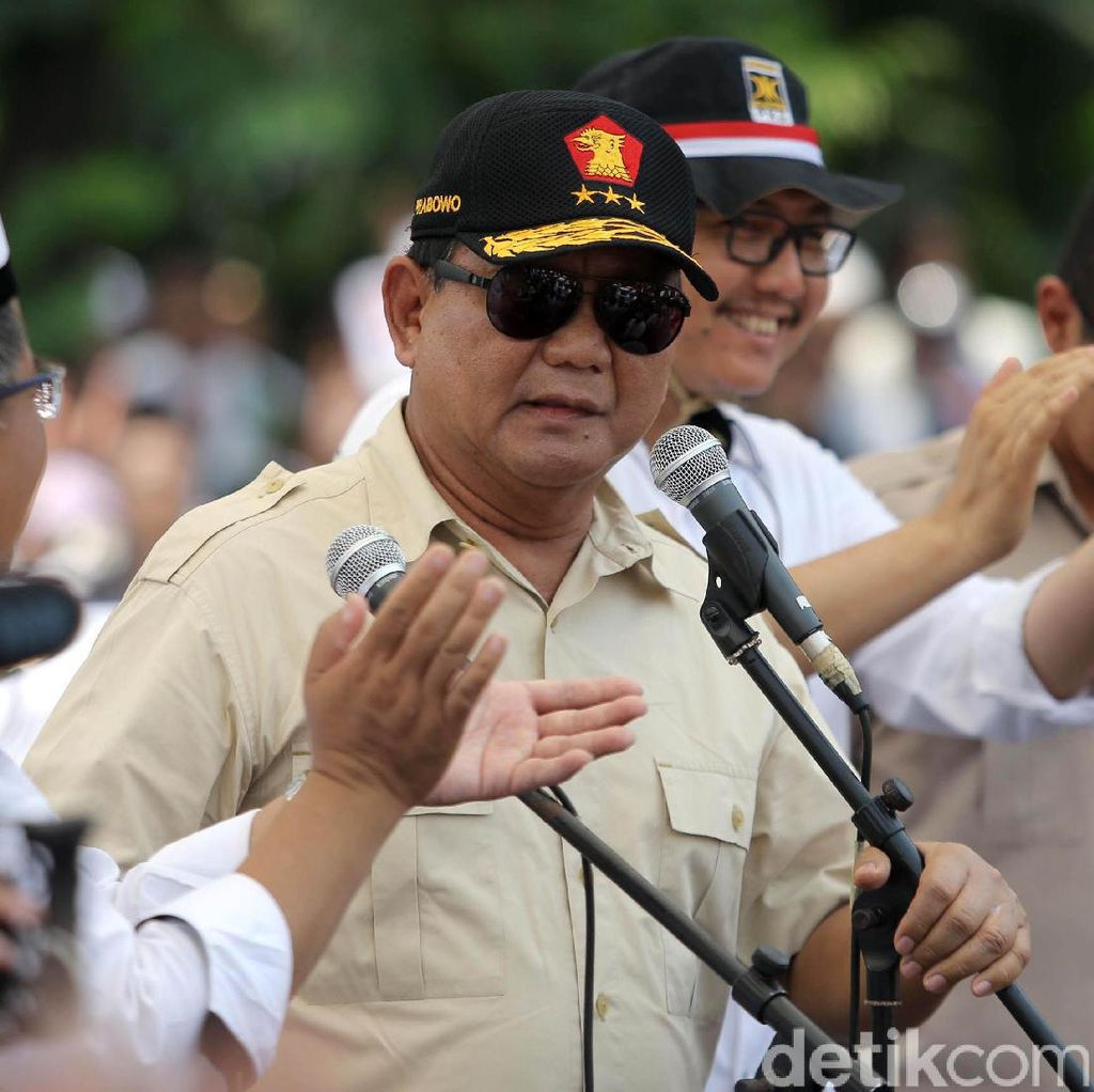 Prabowo: Sedih, Kalau Tak Punya Uang Sulit Jadi Kepala Daerah