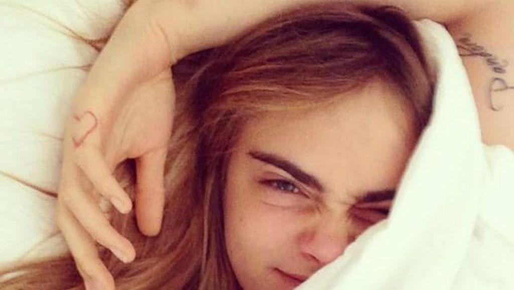 Foto: Begini Muka Bantal 10 Selebriti Saat Baru Bangun Tidur