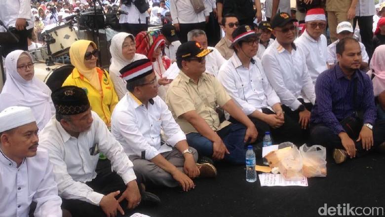 Prabowo dan Amien Rais Ikut Aksi Bela Rohingya