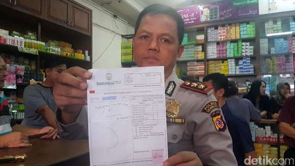 Sidak PCC, Polisi Sukabumi Temukan Resep Obat Daftar G