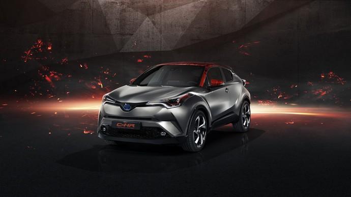 Toyota C-HR Hy-Power, Lebih Hot