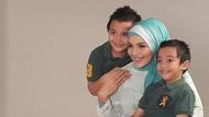 Cerita Anak Kembar Lula Kamal Ikut Semangat Basmi Jentik Nyamuk