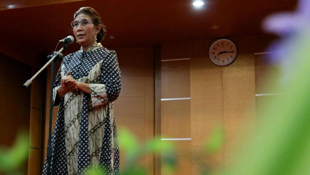 Cara Menteri Susi Ajak Mahasiswa Bantu Berantas Maling Ikan
