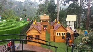 Di Bandung Ada Restoran yang Sediakan Taman Kelinci Hingga Playground untuk Anak