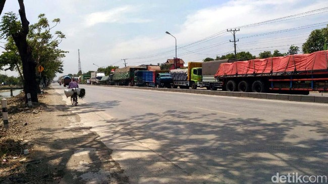 Jalur Pantura. Foto: Wikha Setiawan/detikcom