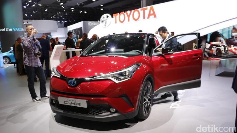 Toyota Tepis Rumor Inden C-HR