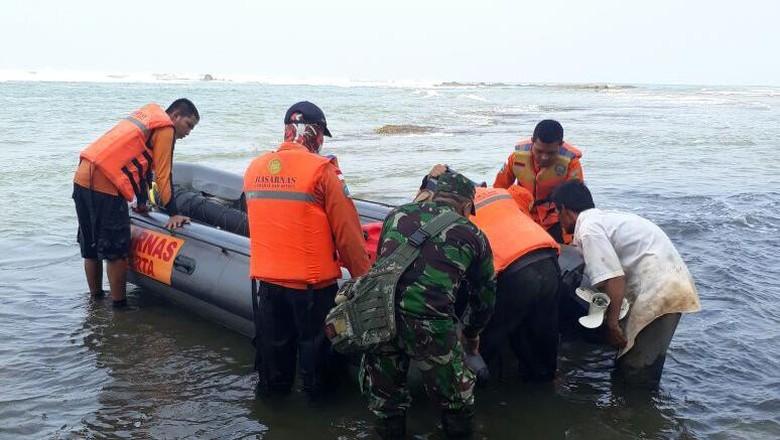 Kru Film Dilaporkan Tenggelam dan Hilang di Pantai Bidur Lebak