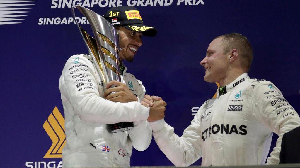 Bottas Ingin Beri Hamilton Persaingan Lebih Ketat Musim Ini