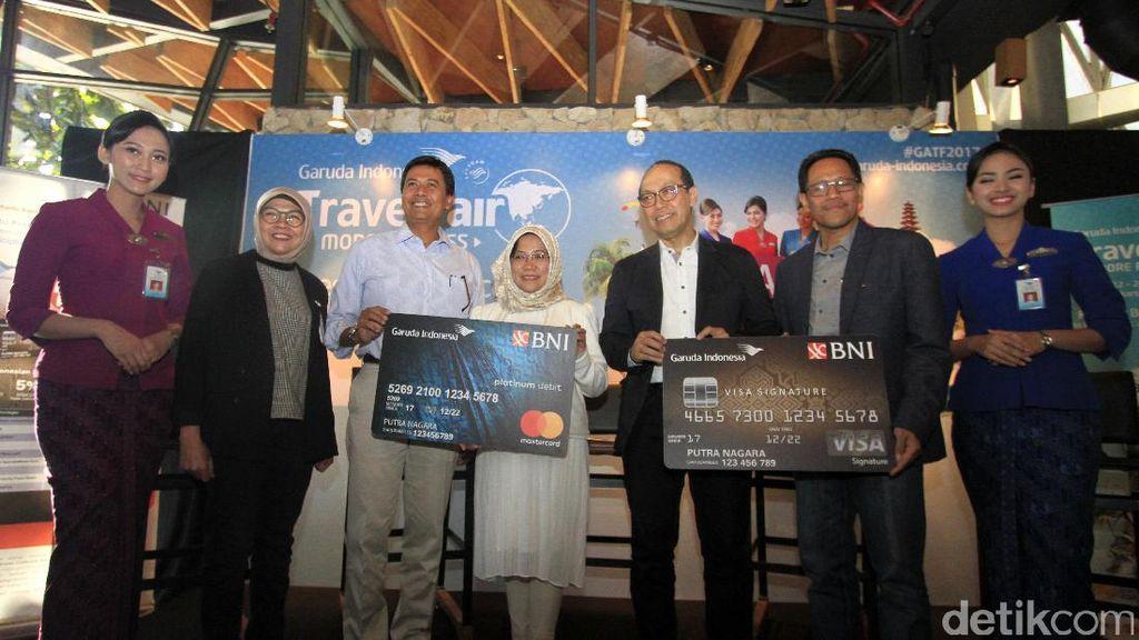 Garuda Indonesia Gandeng BNI Gelar GATF 2017