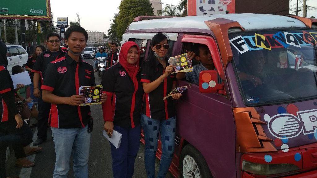 Toyota Agya Club Gelar Kampanye Pentingnya Sabuk Pengaman