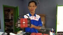 Kulit Ikan Pari untuk Dompet Iriana Jokowi Berasal dari Jepara
