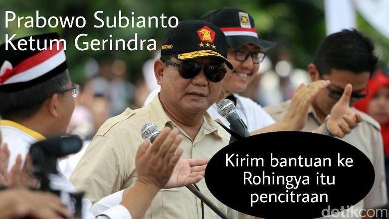 Meme Politik: Serangan Balasan untuk Kritik Prabowo Soal Rohingya