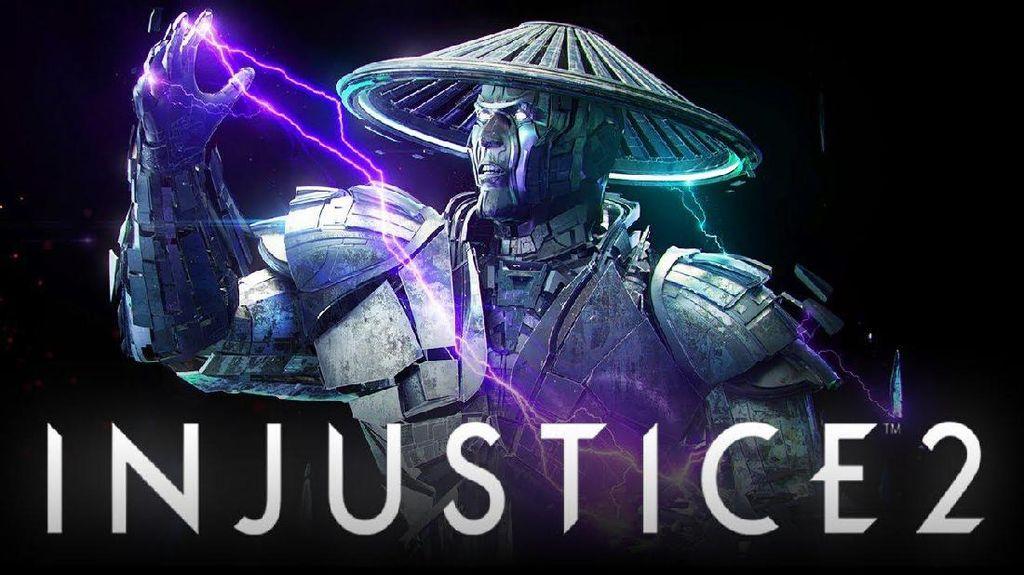 Penampilan Keren Raiden di Injustice 2