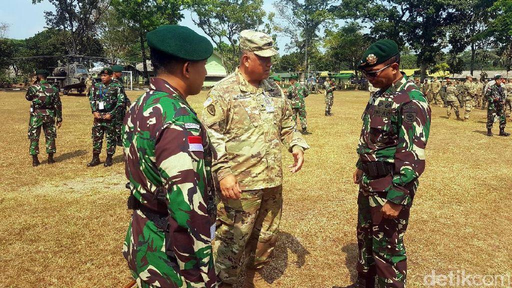 TNI AD dan US Army Latihan Bersama di Sukabumi