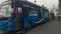 Diuji Coba Hari Ini, Bus Premium Bogor-Jakarta Masih Sepi Penumpang