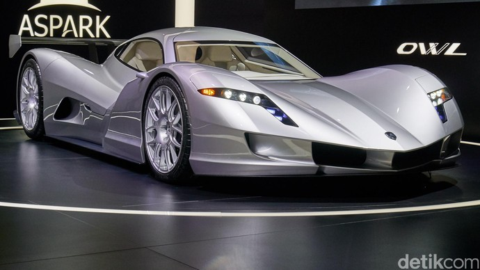 Mobil Super Listrik Paling Ngebut Itu Milik Pabrikan Jepang