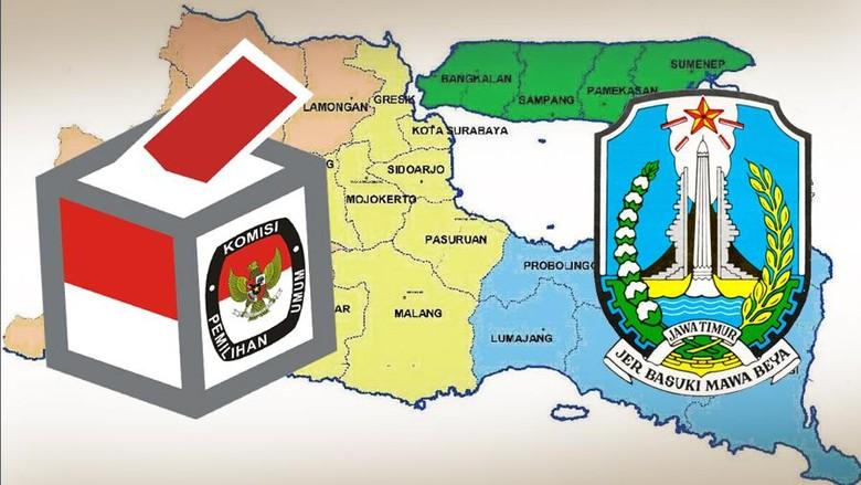 Survei Alvara: Ini 5 Besar Parpol Pilihan Masyarakat Jawa Timur