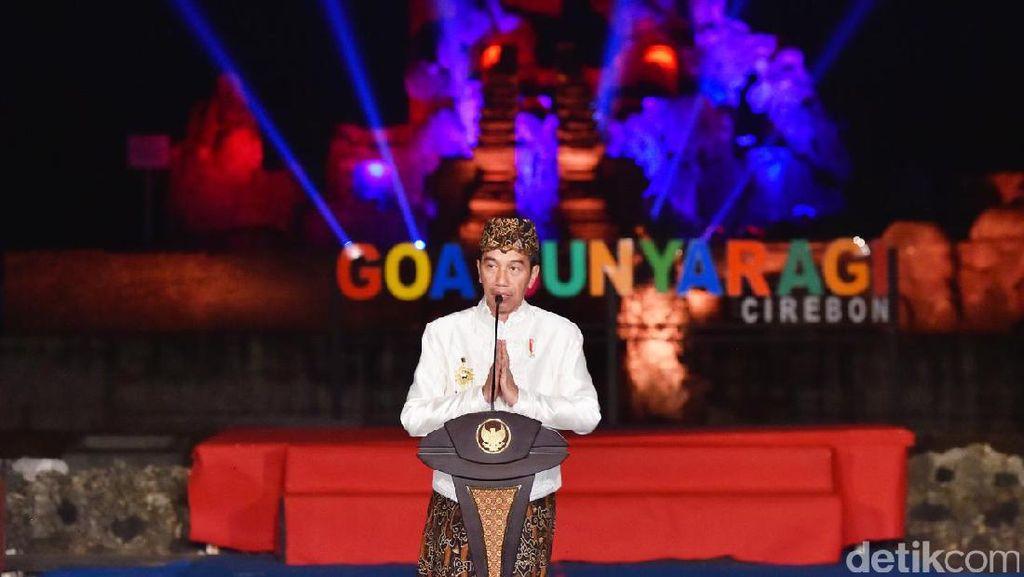 Jokowi Ajak Keraton Se-Nusantara Bangun Karakter Bangsa