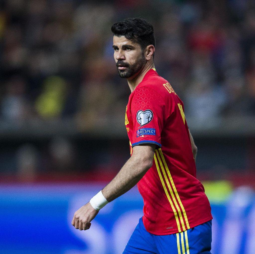 Diego Costa Dukung Morata Agar Bisa Kembali ke Timnas Spanyol