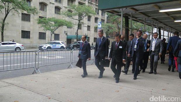 Wapres Jusuf Kalla di New York