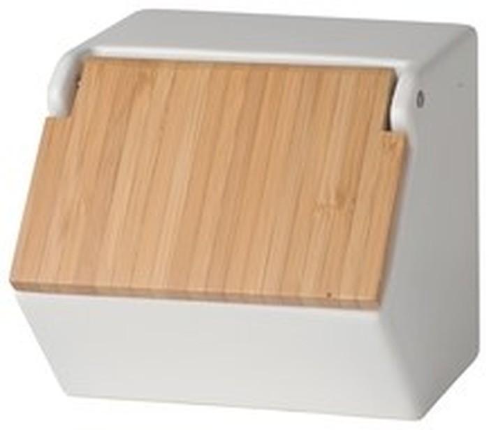 Kotak Garam Takenoko memang terlihat sederhana dengan bahan keramik. Namun, tutup engsel pada kotak garam ini memudahkan kita untuk menjangkau garam. Foto: Istimewa