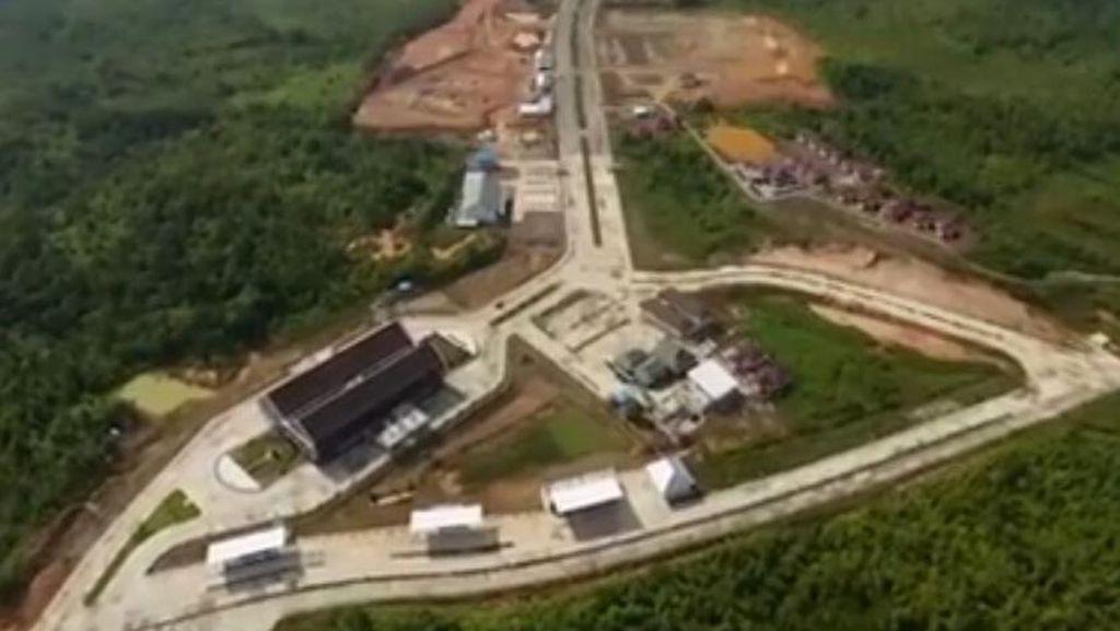 Yuk Lihat Pintu Gerbang RI di Kalimantan dari Udara